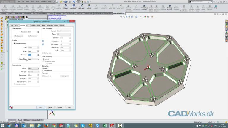 CAMWorks 2.5 akse demo