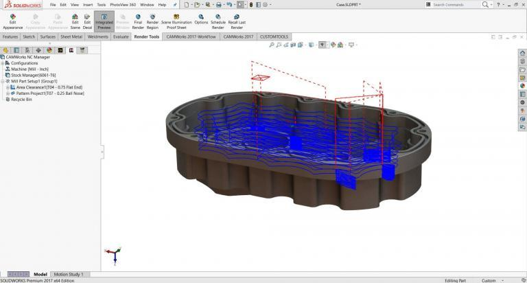 SOLIDWORKS CAM – Powered by CAMWorks