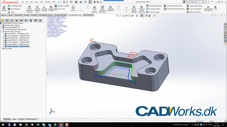 SOLIDWORKS CAM – Intro
